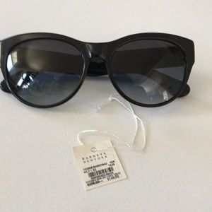 Oliver Peoples black and Navy Blue Sun Glasses